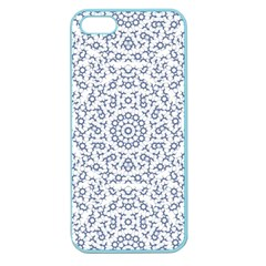 Radial Mandala Ornate Pattern Apple Seamless Iphone 5 Case (color)