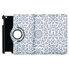 Radial Mandala Ornate Pattern Apple Ipad 2 Flip 360 Case