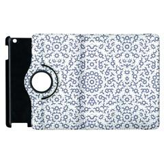 Radial Mandala Ornate Pattern Apple Ipad 3/4 Flip 360 Case