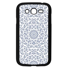 Radial Mandala Ornate Pattern Samsung Galaxy Grand Duos I9082 Case (black)