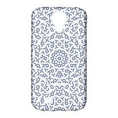 Radial Mandala Ornate Pattern Samsung Galaxy S4 Classic Hardshell Case (pc+silicone)