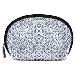 Radial Mandala Ornate Pattern Accessory Pouches (large)