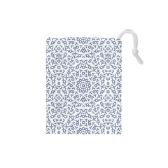 Radial Mandala Ornate Pattern Drawstring Pouches (small)