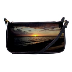 Sunset On Rincon Puerto Rico Shoulder Clutch Bags