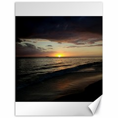 Sunset On Rincon Puerto Rico Canvas 18  X 24