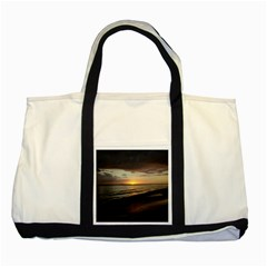 Sunset On Rincon Puerto Rico Two Tone Tote Bag