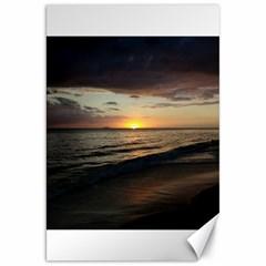 Sunset On Rincon Puerto Rico Canvas 20  X 30