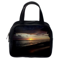 Sunset On Rincon Puerto Rico Classic Handbags (one Side)