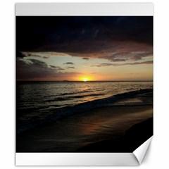 Sunset On Rincon Puerto Rico Canvas 20  X 24