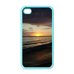 Sunset On Rincon Puerto Rico Apple Iphone 4 Case (color)