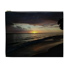 Sunset On Rincon Puerto Rico Cosmetic Bag (xl)