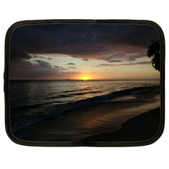 Sunset On Rincon Puerto Rico Netbook Case (large)