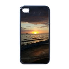 Sunset On Rincon Puerto Rico Apple Iphone 4 Case (black)