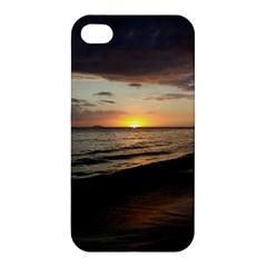 Sunset On Rincon Puerto Rico Apple Iphone 4/4s Premium Hardshell Case