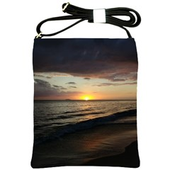 Sunset On Rincon Puerto Rico Shoulder Sling Bags