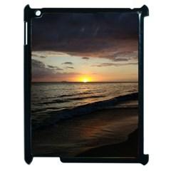 Sunset On Rincon Puerto Rico Apple Ipad 2 Case (black)