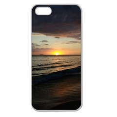 Sunset On Rincon Puerto Rico Apple Seamless Iphone 5 Case (clear)