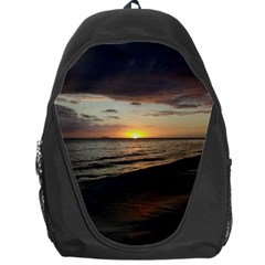 Sunset On Rincon Puerto Rico Backpack Bag