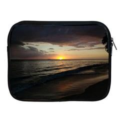 Sunset On Rincon Puerto Rico Apple Ipad 2/3/4 Zipper Cases
