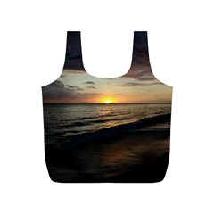 Sunset On Rincon Puerto Rico Full Print Recycle Bags (s)