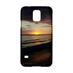 Sunset On Rincon Puerto Rico Samsung Galaxy S5 Hardshell Case