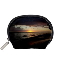 Sunset On Rincon Puerto Rico Accessory Pouches (small)