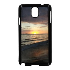 Sunset On Rincon Puerto Rico Samsung Galaxy Note 3 Neo Hardshell Case (black)