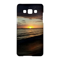Sunset On Rincon Puerto Rico Samsung Galaxy A5 Hardshell Case