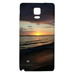 Sunset On Rincon Puerto Rico Galaxy Note 4 Back Case