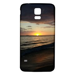 Sunset On Rincon Puerto Rico Samsung Galaxy S5 Back Case (white)