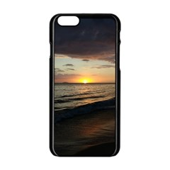 Sunset On Rincon Puerto Rico Apple Iphone 6/6s Black Enamel Case