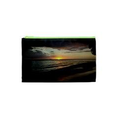 Sunset On Rincon Puerto Rico Cosmetic Bag (xs)