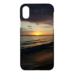 Sunset On Rincon Puerto Rico Apple Iphone X Hardshell Case