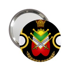 Shield Of The Imperial Iranian Ground Force 2 25  Handbag Mirrors