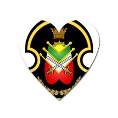 Shield Of The Imperial Iranian Ground Force Heart Magnet