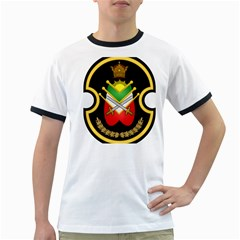 Shield Of The Imperial Iranian Ground Force Ringer T Shirts