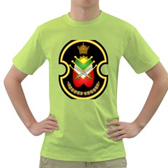 Shield Of The Imperial Iranian Ground Force Green T Shirt