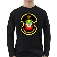 Shield Of The Imperial Iranian Ground Force Long Sleeve Dark T Shirts