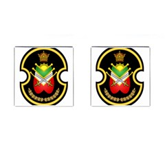 Shield Of The Imperial Iranian Ground Force Cufflinks (square)
