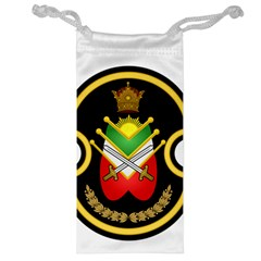 Shield Of The Imperial Iranian Ground Force Jewelry Bag
