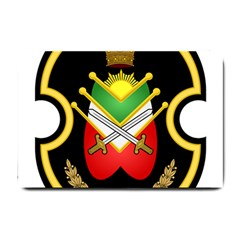 Shield Of The Imperial Iranian Ground Force Small Doormat