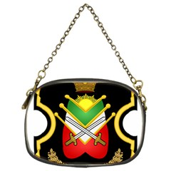Shield Of The Imperial Iranian Ground Force Chain Purses (two Sides)