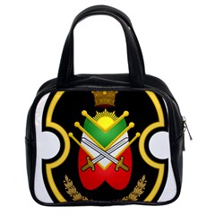 Shield Of The Imperial Iranian Ground Force Classic Handbags (2 Sides)