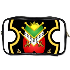 Shield Of The Imperial Iranian Ground Force Toiletries Bags 2 Side