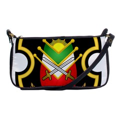 Shield Of The Imperial Iranian Ground Force Shoulder Clutch Bags