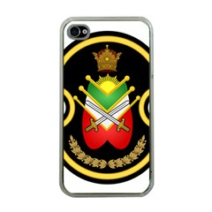 Shield Of The Imperial Iranian Ground Force Apple Iphone 4 Case (clear)