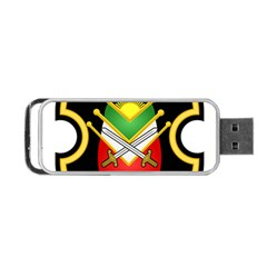 Shield Of The Imperial Iranian Ground Force Portable Usb Flash (one Side)
