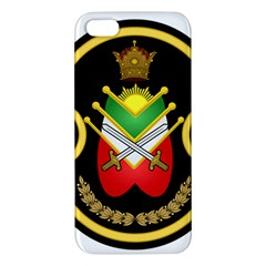 Shield Of The Imperial Iranian Ground Force Apple Iphone 5 Premium Hardshell Case