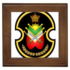 Shield Of The Imperial Iranian Ground Force Framed Tiles