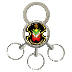 Shield Of The Imperial Iranian Ground Force 3 Ring Key Chains